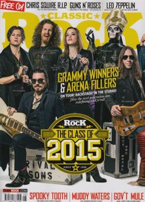 Classic Rock + CD UK (Issue 213 - August)