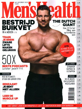 Men's Health NL (11-2018)