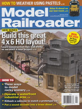Model Railroader USA (01-2016)