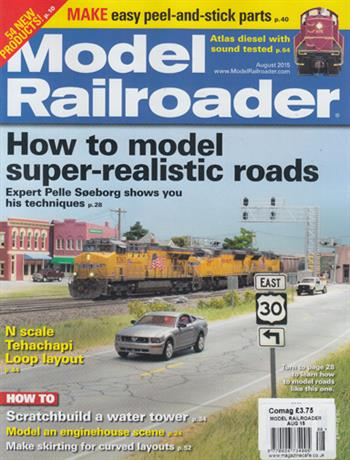 Model Railroader USA (Issue 08 - August)