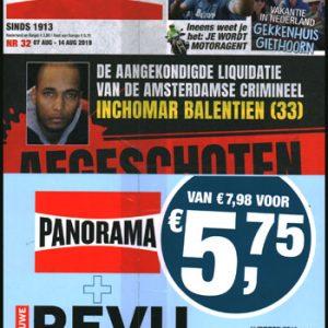 Pakket Panorama + Nieuwe Revu (32-2019)