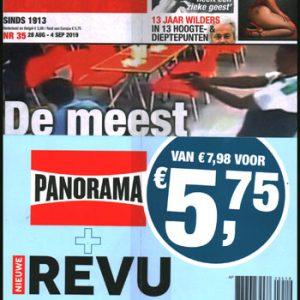 Pakket Panorama + Nieuwe Revu (35-2019)