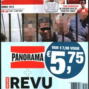Pakket Panorama + Nieuwe Revu (40-2019)