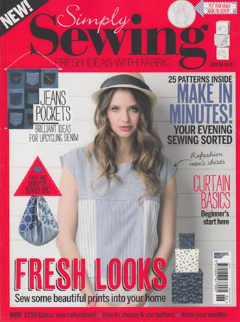 Simply Sewing UK (Issue 06)