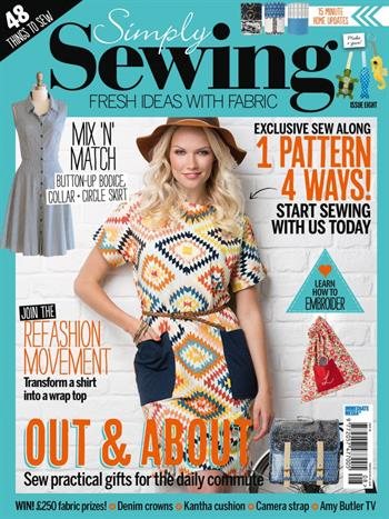 Simply Sewing UK (Issue 08)