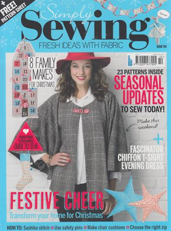Simply Sewing UK (Issue 10)