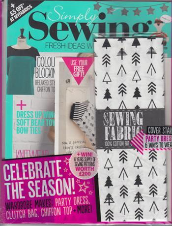 Simply Sewing UK (Issue 11)