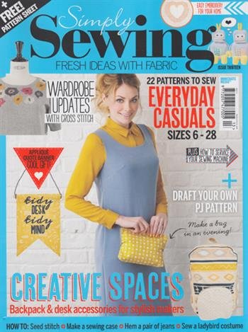 Simply Sewing UK (issue 13)