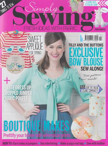 Simply Sewing UK (issue 14 2016)
