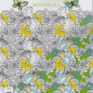 Zen colouring UK (Botanicals)