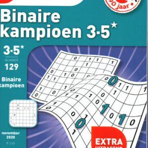 Denksport Binaire kampioen (129-2020)
