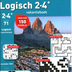 Denksport Logisch vakantieboek (71-2020)