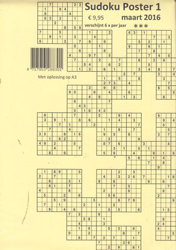Sudoku Poster (01-2016)