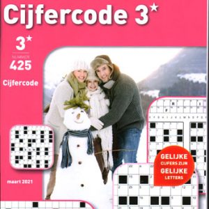 Denksport 3* Cijfercode (425-2021)