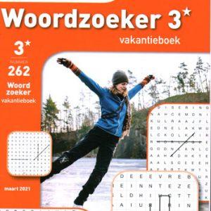 Denksport 3* Woordzoeker vakantieboek (262-2021)