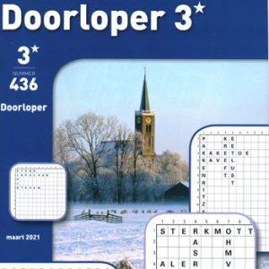 Denksport 3* doorloper (436-2021)