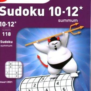 Denksport Sudoku Summum 10-12* (118-2021)