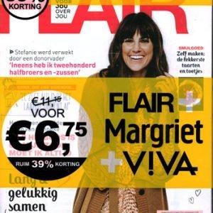 Pakket Flair + Margriet + Viva (10-2021)