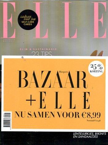 Pakket Harper's Bazaar + Elle (05-2021)