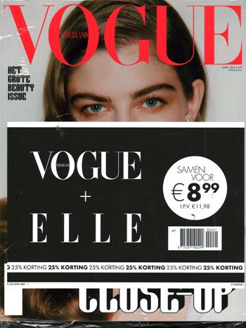 Pakket Vogue + Elle (04-2021)