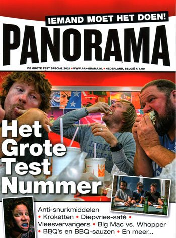 Panorama: de grote test special (01-2021)