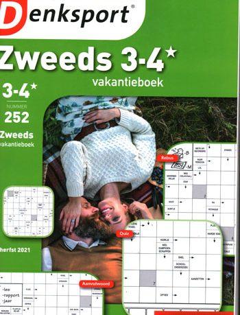 Denksport 3-4* Zweeds Vakantieboek (252-2021)
