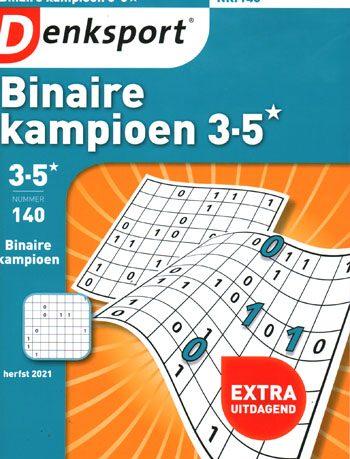 Denksport Binaire kampioen (140-2021)