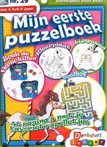 Denksport Mijn eerste puzzelboek (29-2020)