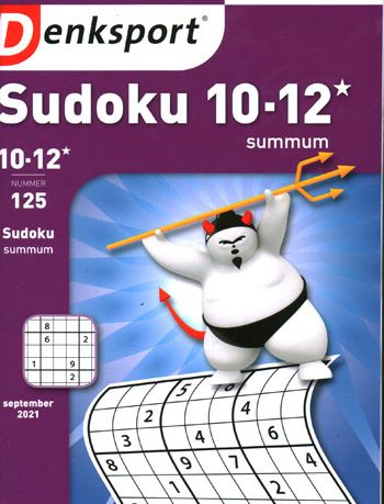 Denksport Sudoku Summum 10-12* (125-2021)