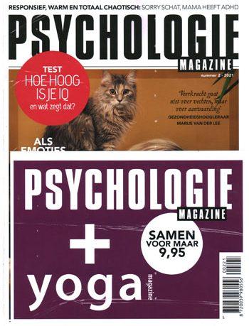 Pakket Psychologie Magazine + Yoga Magazine (02-2021)